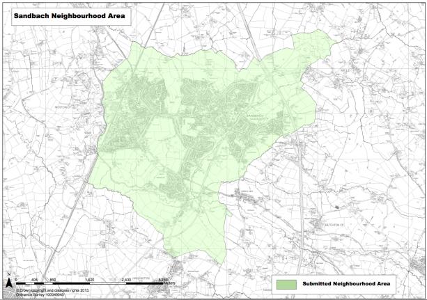 SNP Area Map